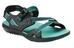 Keen Maupin sandalen Dames zwart/turquoise